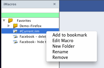 iMacros: Mass Delete Previous Status, Wall Posts On Facebook By Year