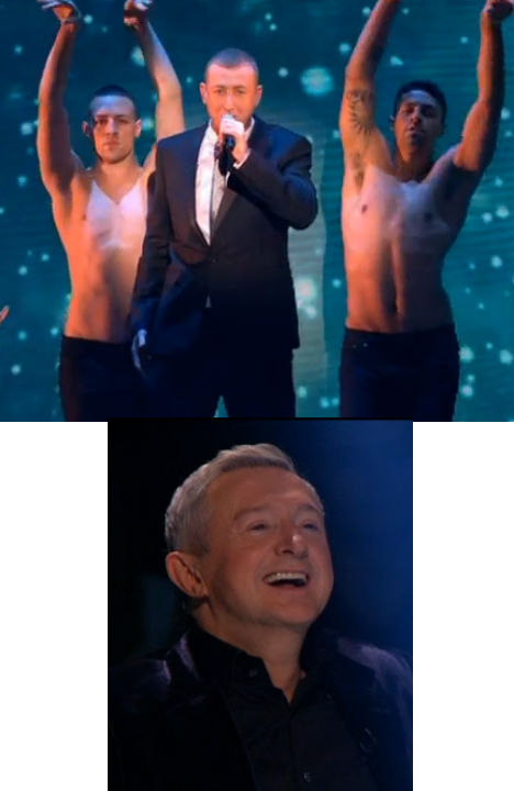 LOUIS WALSH IS GAY