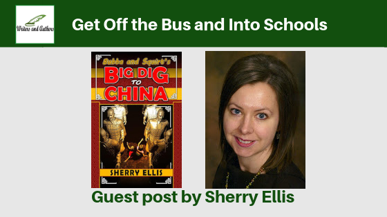 Get Off the Bus and Into Schools, Guest Post by Sherry Ellis