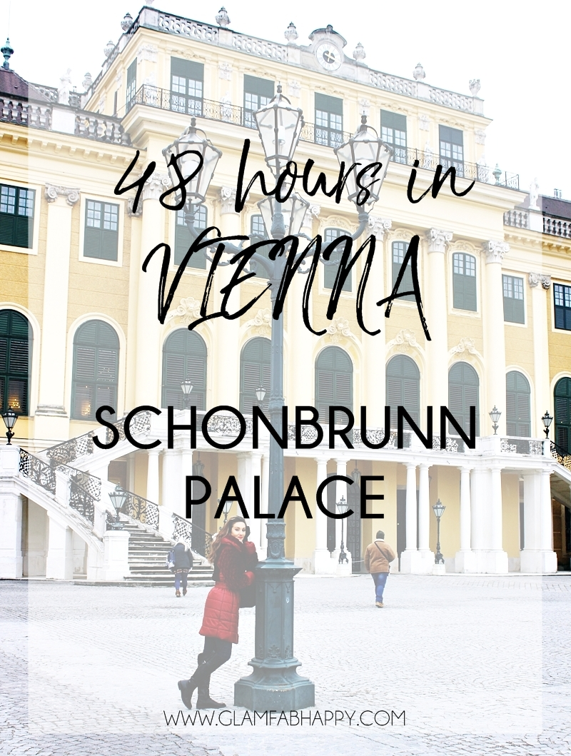 how to spend 48h in Vienna Schönbrunn Palace tour