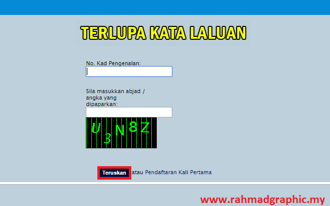 Cara Semak Penyata PTPTN Online
