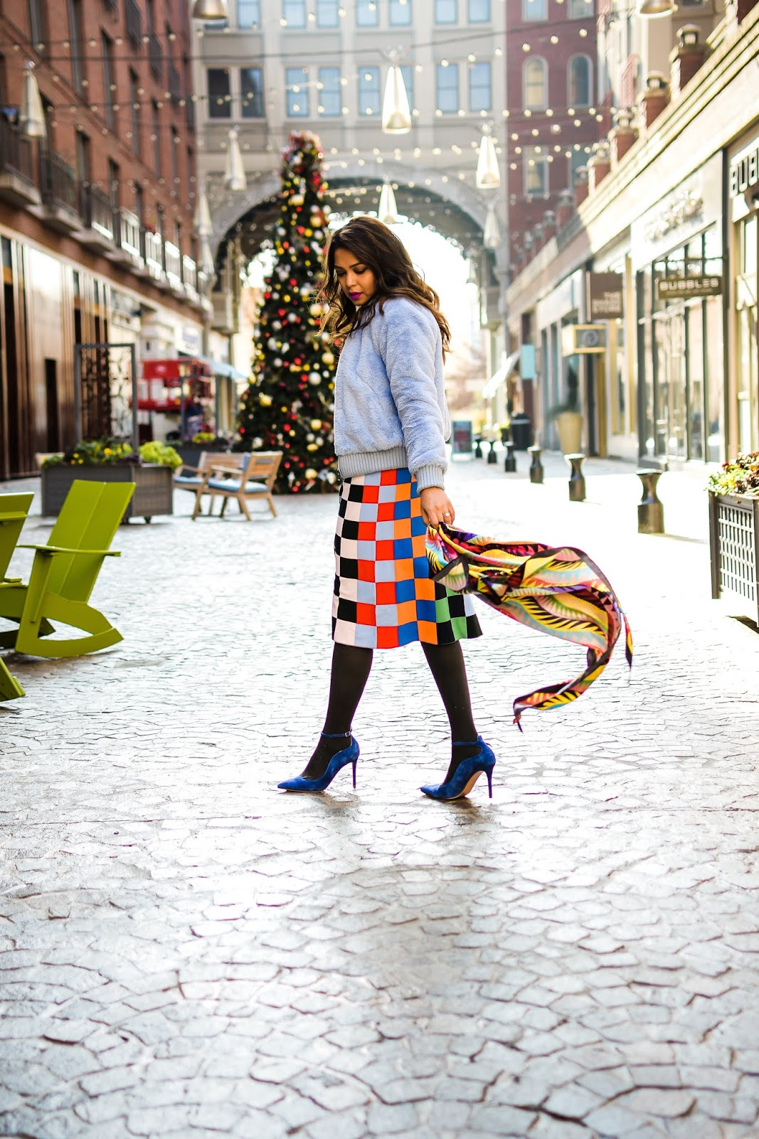 winter sales, items to shop for during the winter sale, Tory burch skirt, banana republic teddy coat, sporty outfit, blue pumps, winter look, myriad musings, Saumya Shiohare