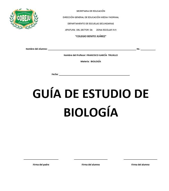 BLOG DE TAREAS COBEJU SECUNDARIA : Guìa de Examen de