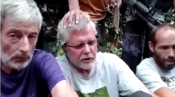 Tiga warga negara asing yang disandera keompok Abu Sayyaf