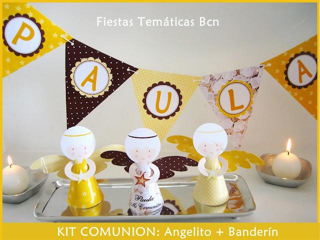 ANGELITOS IMPRIMIBLES COMUNION