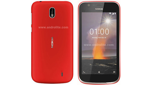 HP Nokia 1 Android Go