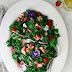 Strawberry Kale Salad with Walnuts