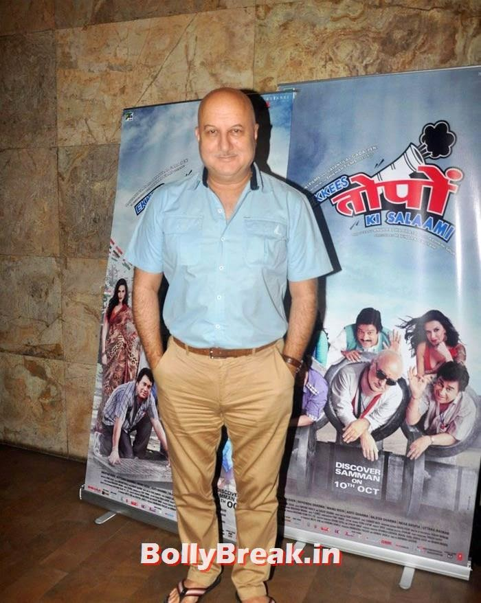 Anupam Kher, 'Ekkis Topon Ki Salami' Special Screening Photos