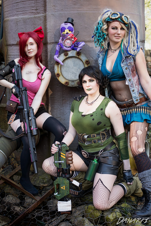 Chrix Design Post Apocalyptic Powerpuff Girls