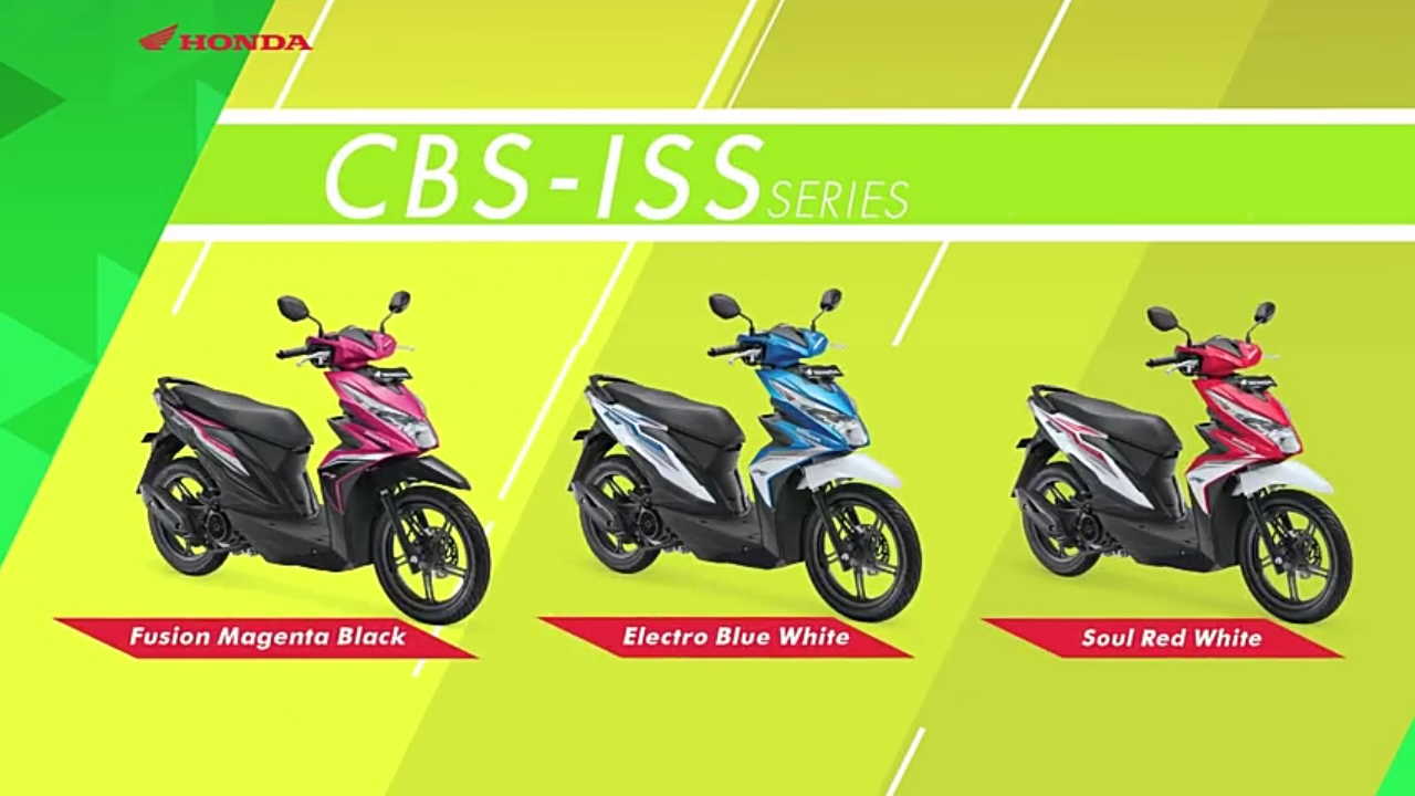 Honda All New Beat Esp Fi Sporty Cbs Iss Fusion Magenta Black Otr Street Wonogiri Motorcycles Source Electro