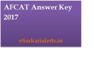 AFCAT Answer Key