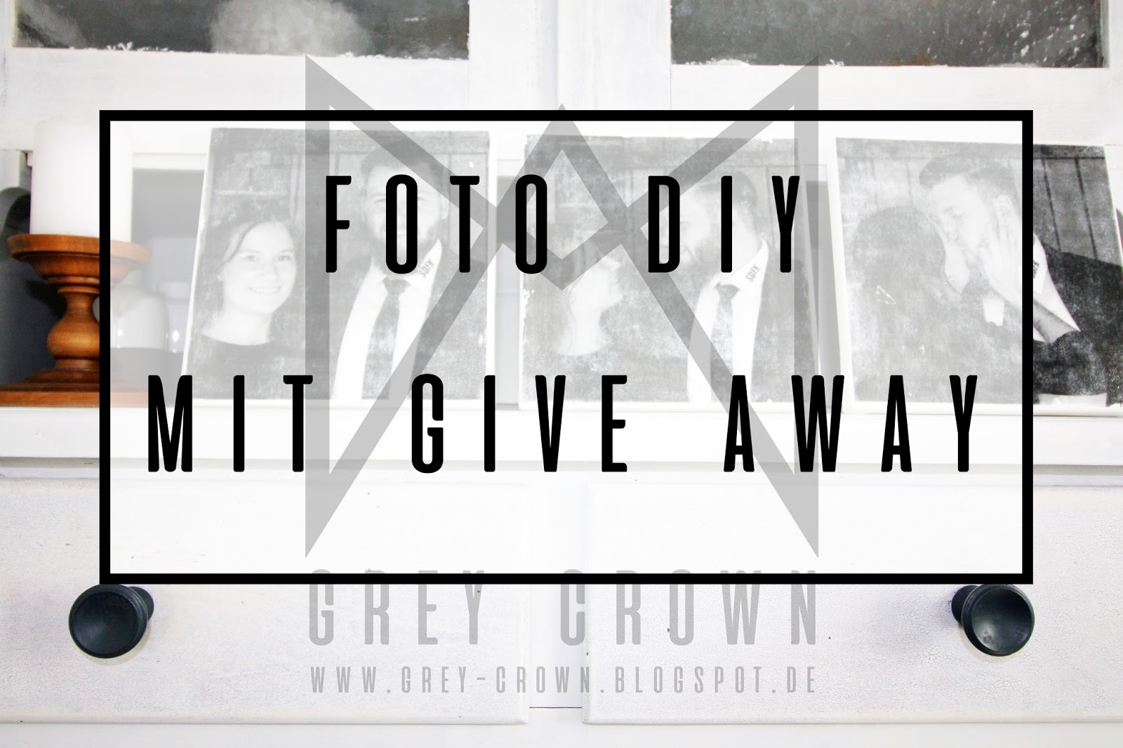 Fotodruck Auf Holz Diy Grey Crown Foto Diy Give Away Von Kreul