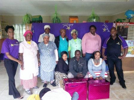 Hollywoodbets Estcourt decided to assist physically challenged children as their project this year and in their investigations came across the Ekuphileni Community Care Centre, situated in Loskop.