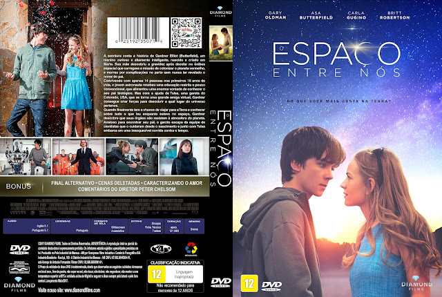 Capa DVD O Espaço Entre Nós [Custom]