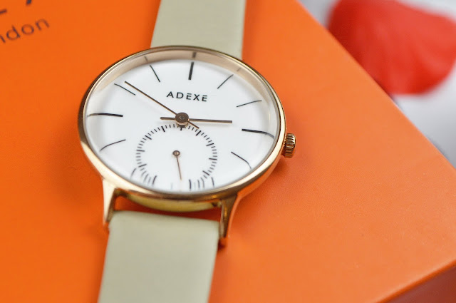 Adexe Petite Freerunner Watch in SnowWhite, Lovelaughslipstick Blog review