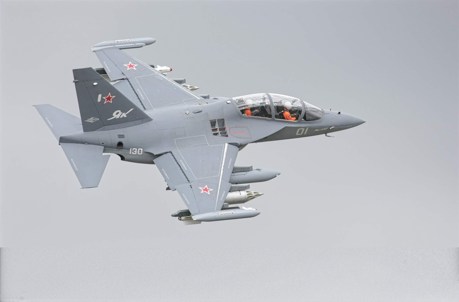 Yak-130 of Yakovlev Russian Air Force Jet Trainer
