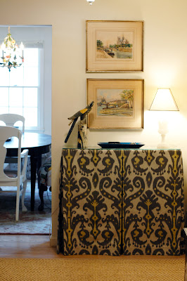 skirted console