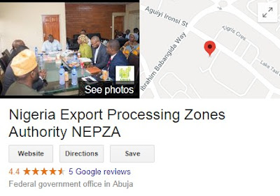 Nigeria Export Processing Zones Authority Recruitment Login 2018/2019 | (NEPZA) See How To Apply