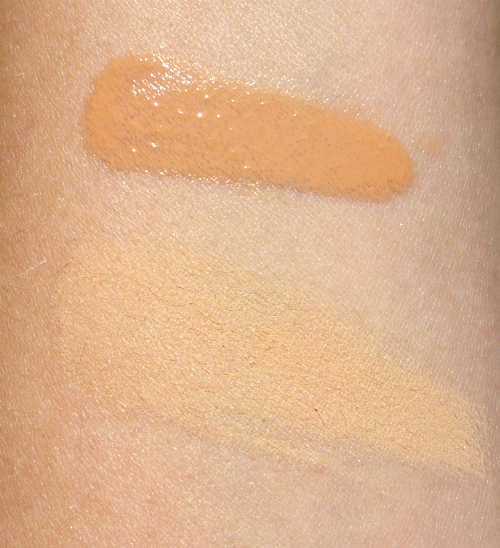 Swatches Studio Gear Dual Identity Mineral Wet & Dry Foundation in Linen