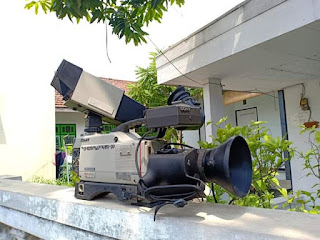Dijual color video camera dxc 3000ap  Era tahun 80an