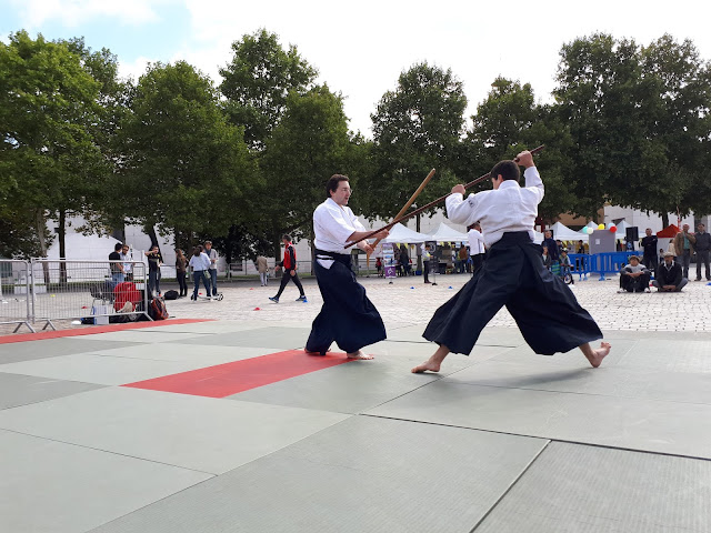 Bo jutsu de l'école Katori Shinto Ryu