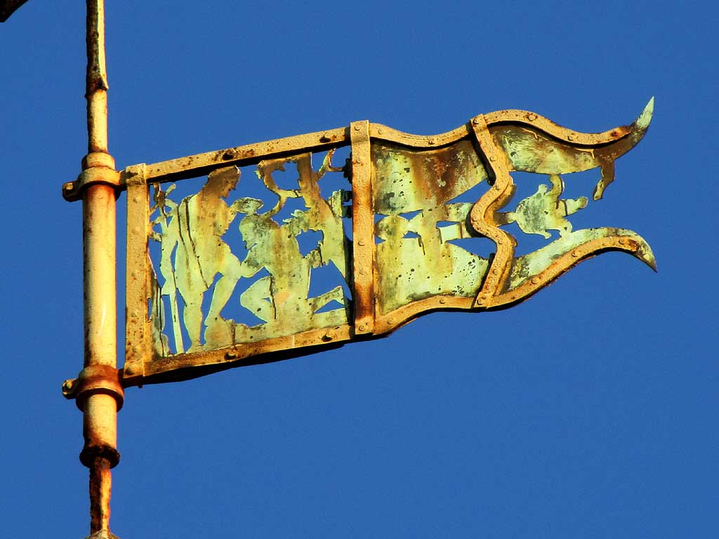 Saint John the Baptist weather vane, Livorno