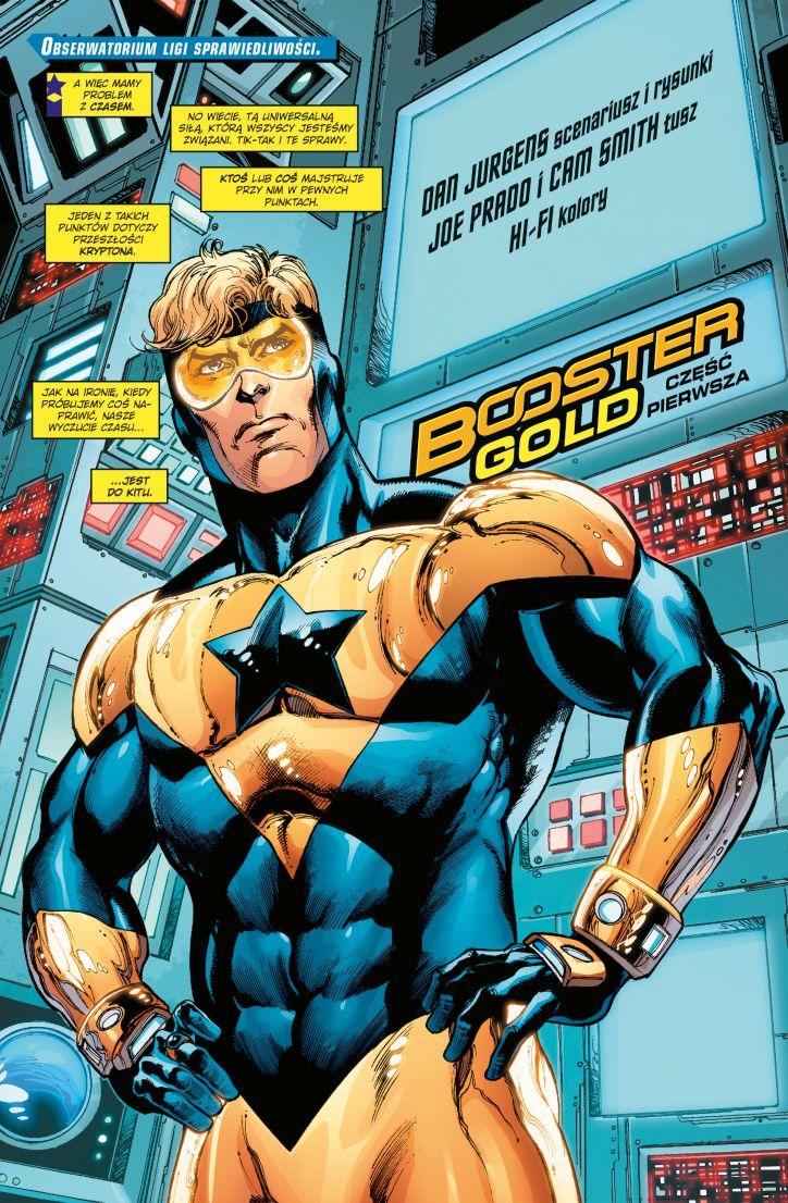 Action Comics tom 5 przykładowa strona