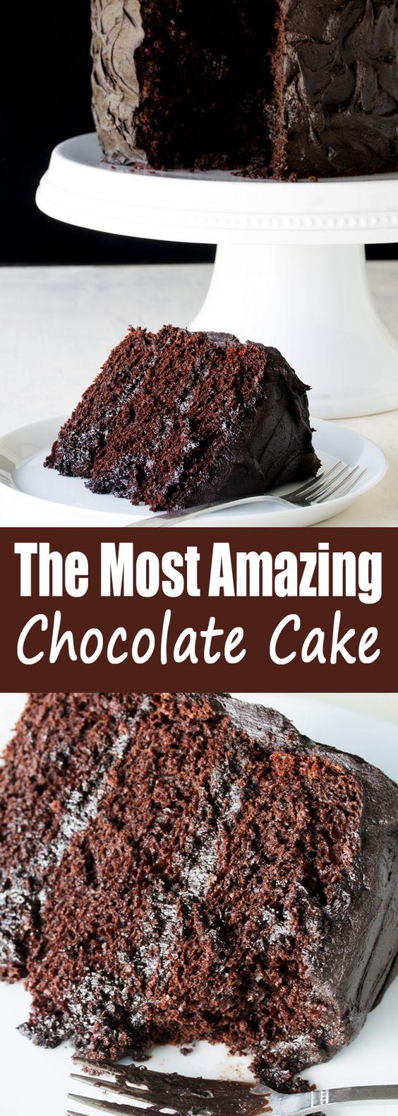 The Most Amazíng Chocolate Cake