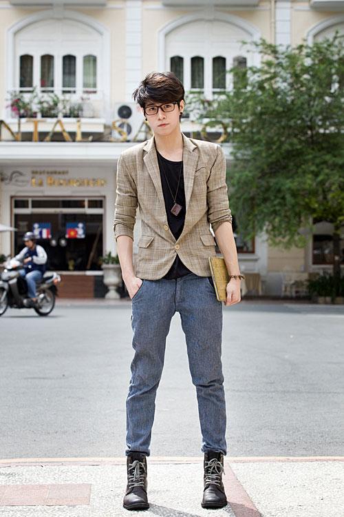 cách chọn quần jeans nam cho người dáng tiêu chuẩn
