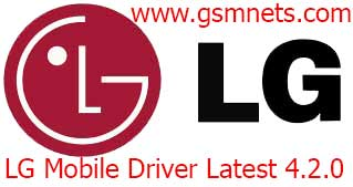 LG Mobile Driver Latest 4.2.0 Download