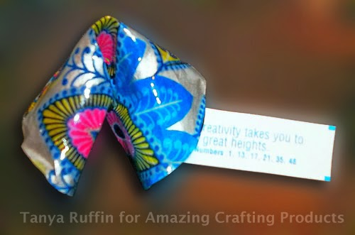 Amazing Casting Products: #Cre8time for Resin Paper Fortune