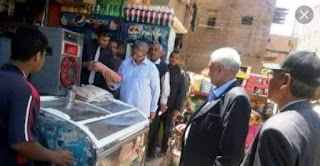 تحرير 71 محضر فى حمله تموينيه لادارة بندر المحله