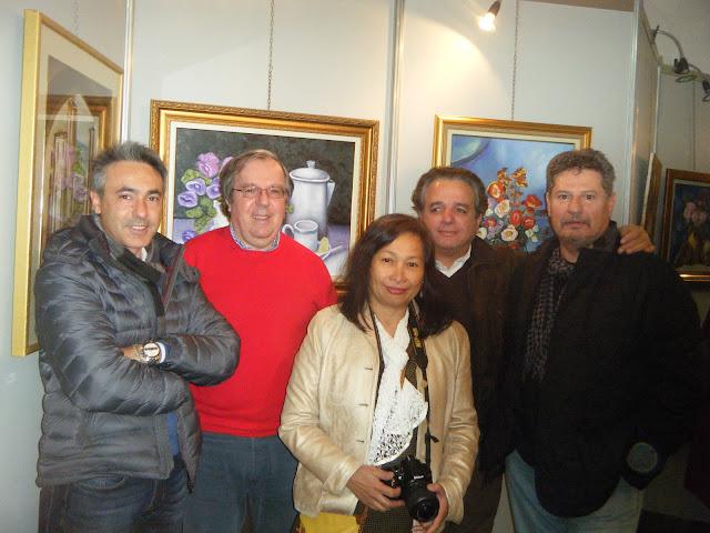 Exposition de peintures à La Galerie Aicha Haddad 4