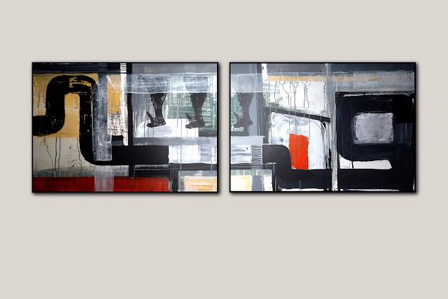 Gemälde für Büro Arbeitsplatz individuelles Design