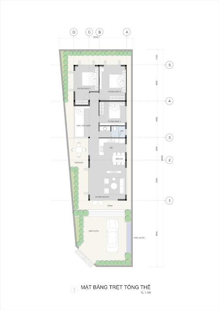 Thiết kế nhà vườn hiện đại 2019