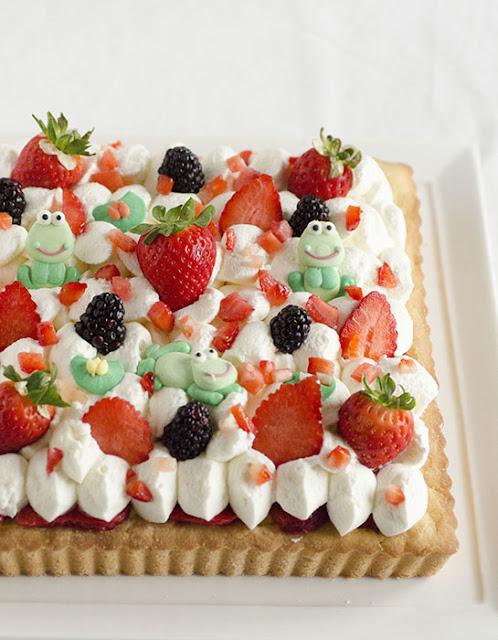 Torta compleanno alla frutta
