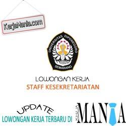 Lowongan Kerja Universitas Diponegoro (Undip)