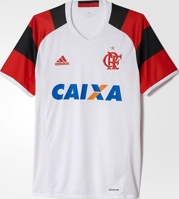 9d40a744c5 Adidas divulga nova camisa reserva do Flamengo - Show de Camisas