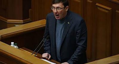 Генпрокурор Луценко заявил, что подает в отставку