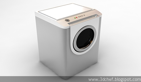 washer 3d model free