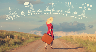 Viajando pelo mundo