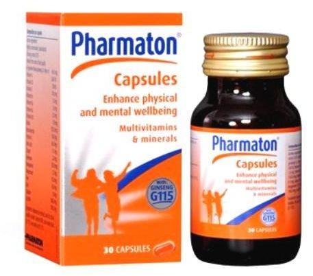 سعر ودواعي إستعمال كبسولات فارماتون Pharmatin مكمل غذائى