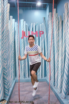 Renz Cheng Jumps in The Dessert Museum