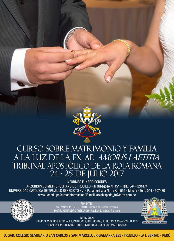 "Prelatura de Caravelí: Curso Nacional sobre ""Matrimonio y"