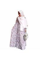 Alfacart Gamis Gaun Batik Hijab Syar Putri Ayu ANDHIMIND