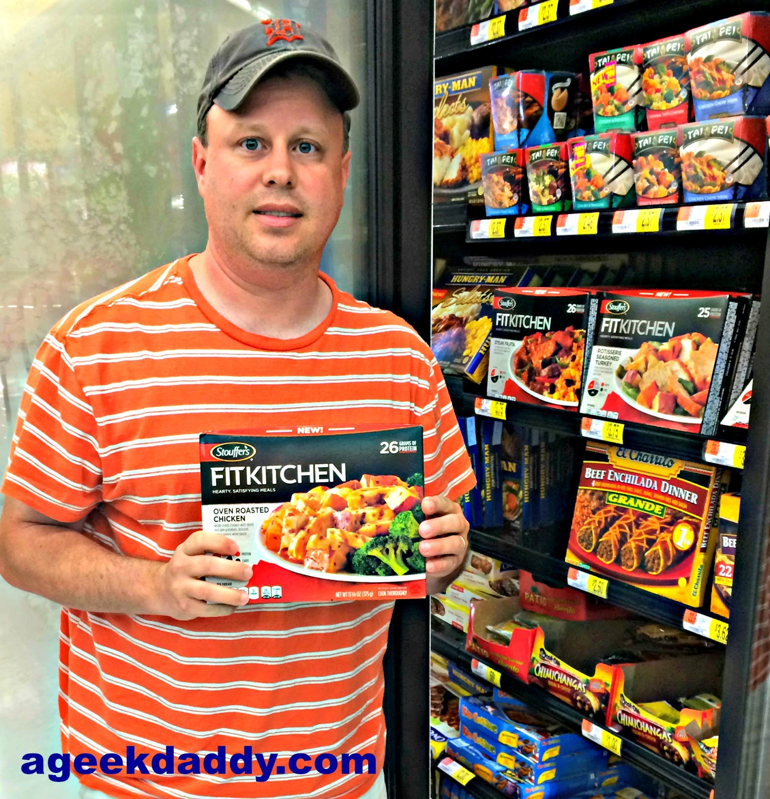 Fit Kitchen: A GEEK DADDY: Stouffers Fit Kitchen Meals Help Keep Active