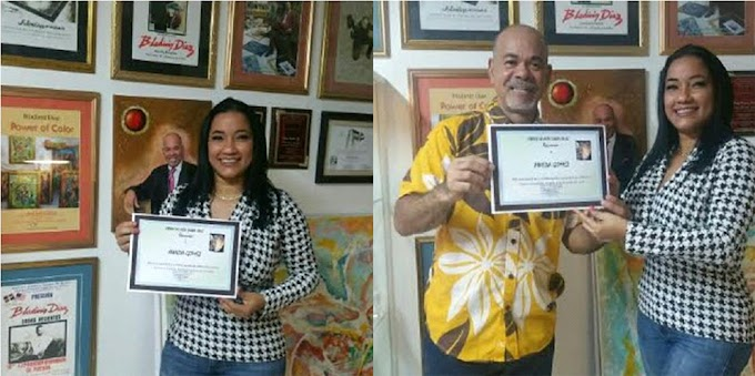 Destacada periodista dominicana reconocida por apoyo al desarrollo del arte y la cultura