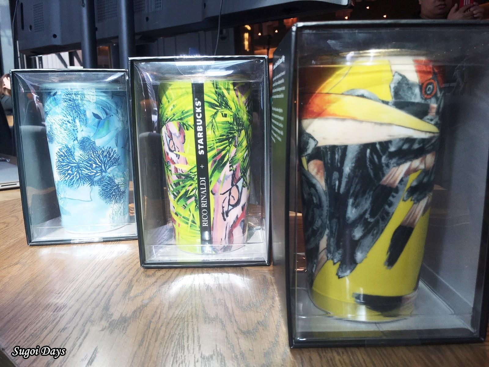 Starbucks Designer Rico X Collection Sugoi Rinaldi Days2018 fvbyIY76g