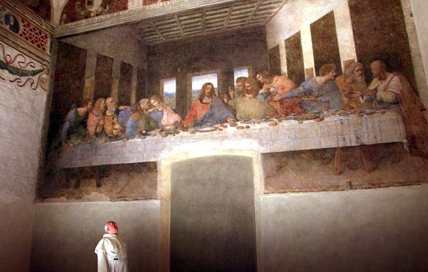 The Last Supper' by Leonardo da Vinci