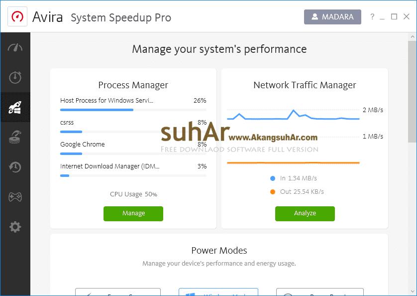 Gratis Download Avira System Speedup Pro Full Crack Terbaru, Avira System Speedup Pro Plus Serial Number